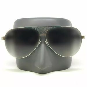Other - Fashion Aviator Oversize Silver Frame Sunglasses